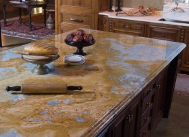 Jeweled Coral Countertop